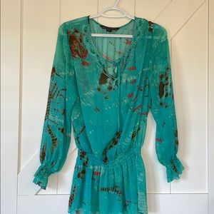 Mushka By Sienna Rose printed Tie due top
